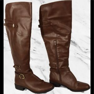 Style & Co. Over the Knee Brown Boots Size 8